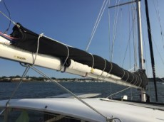 lashed mainsail